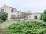 Three bedroom house with gite close to market town
