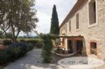 Domaine with fabulous stone house, 400m² living space, contemporary restoration, home cinema,