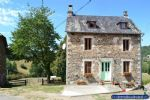 recently renovated stone house with barn and stunning panoram...