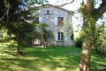 Detached stone country house set in large, tranquil gardens of 2700m2.