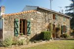 Charming stone cottage in a Vendee hamlet.