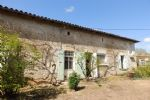 Traditonal Charentaise Stone House With Outbuildings In Village With Amenities