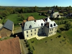 French Chateau, restored and comfortable, in North Creuse.
