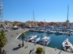 *Lovely apartment with views of the port and with shared swimming pool on a residence Cap D'Agde