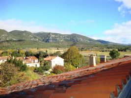 *Furnished village house with large garage and roof terrace