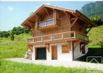 An affordable new build chalet, in a pretty village close to the Portes du Soleil.