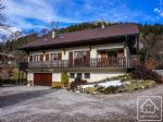 A large, charming house in the pretty ski village of Bernex.
