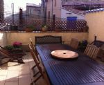 Spacious village house with 2 bedrooms, independent apartment, garage and sunny terrace.