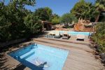 Villa with views, pool, jacuzzi and garage (close to St Paul de Vence)