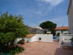 Large family home with swimming pool close to beach in Le Bacares