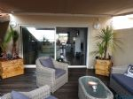 Superb duplex apartment with sea views in Canet Plage