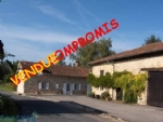 Magnificent stone property with guest house and annexes near Saint Junien