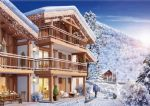 EXCEPTIONAL 1 Bedroom apartments in modern Alpine-style development in the heart of Samoens.