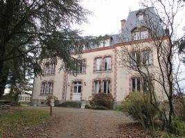 Chateau with adjacent house, cottage and pool/games room house