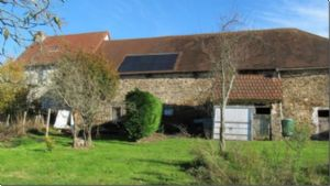 Dordogne farmhouse for sale with gite and two acres of land.