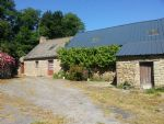 Langonnet area, stone longere to convert into one or two houses, Garden and detached land
