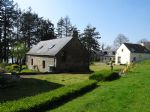 Guémené s/Scorff area, a village comprising of 4 dwellings with land and heated swimming pool