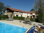 Traditionel L shaped farmhouse with outbuiding, pool, on 1.5 hectare o