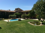 Character house with garden, garage and pool