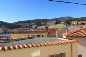1 bed apartment with balcony in the centre of the village!