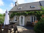Delightful One Bedroom Cottage with Easily Maintained Garden in a Hamlet near to Bourbriac