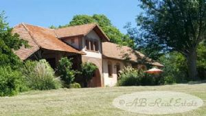Exceptional Estate, breathtaking views across the Pyrenees, authentic 19th C. farmhouse