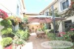 A nice village house, 185m², 3 bedrooms, two further storeys plus attic can be restored, a