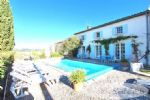 The property contains two houses, a family house and a guest house, 278m² living space in total,