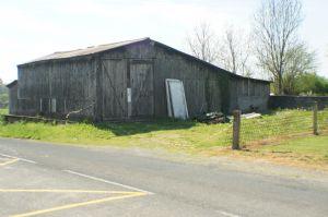 Wooden framed barn for renovation. St Hilaire de Voust.
