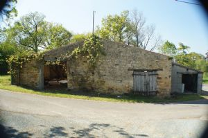 Stone barn for renovation.