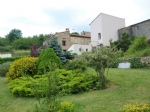 *Stone cottage, village location and large garden with fabulous views