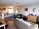 *2 bed apartment with garage, garden and big terrace