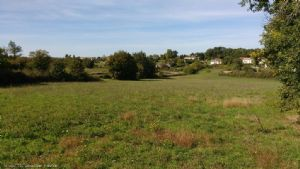 Building Plot With Field And Country Views On 13887m². Close To Ruffec