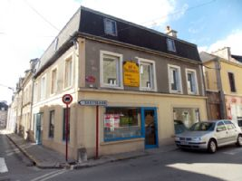 House with Commercial Premises in the Centre of Saint-Vaast-la-Hougue