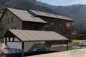 Off plan apartments for sale in Saint Jean d'Aulps village