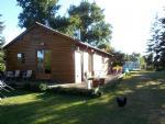 Lac de Beauté - Maison et Exploitation de Pêche avec Etang, Mobil Homes etc. Sur Place