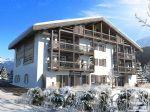 Nouveaux appartements 3-pièces à distance de marche du centre de Chamonix.