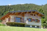 A 6 bedroom chalet with scope for further development.