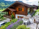A charming three bedroom chalet with stunning south facing views.