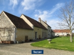 Stone farm house and outbuildings in Mortagne au Perche