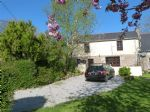 Pretty cottage in traditional Breton village