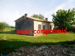 Property complex for renovation near Jonzac