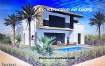 New Modern Villa Under Construction. 117 Sqm. Plot 388 Sqm. Master Suite On Groud Floor. Garage.