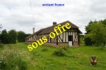 A Longere Normandy house with 3 bedrooms, on a 1500 m² site.