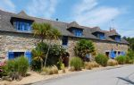 Pretty stone long house just 150m from the beach.