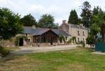 Manoir house with gite, barns and heated pool
