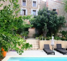 B+b With Private Accommodation, Garden And Pool, Tautavel