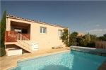 Beautiful Single Storey Villa With Pool And Views, Fitou