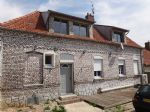 Semi-detached brick house 5mn from Hesdin with barn and outbuildings