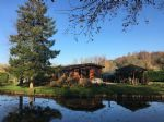 Property with 2 lakes and chalet on 6572m²